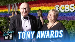 James Corden's Parents Conquer the 2019 Tony Awards