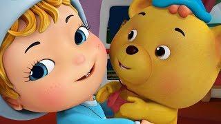 Get Ready for School with Teddy Bear | Baby Nursery Songs | Infobells