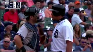 Yankees Tigers Fight [08/24/2017]