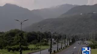 24 Report : Rain turns weather of Islamabad Rawalpindi pleasant
