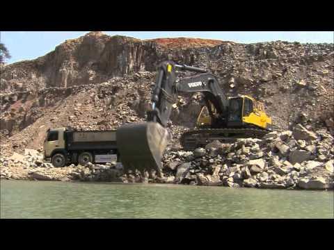 Vídeo promocional EC750D//Volvo EC750D Crawler Excavator promotional video