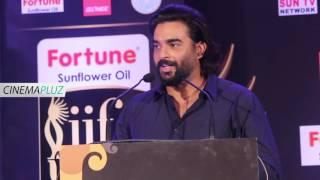 Indian cinema is Incomplete without Rajni and Kamal - Madhavan at IIFA