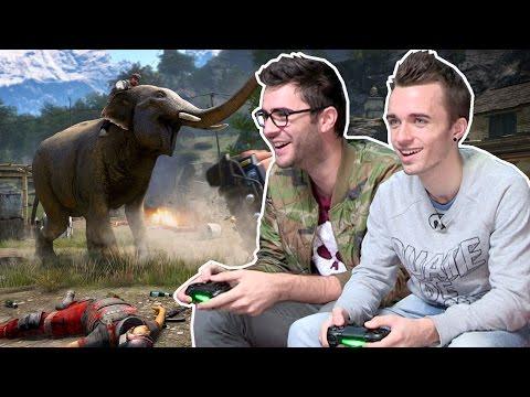 Des barres sur Far Cry 4 en COOP