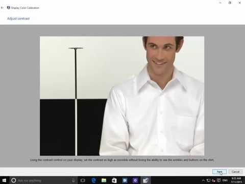 Windows 10 - How to change & adjust the display settings.
