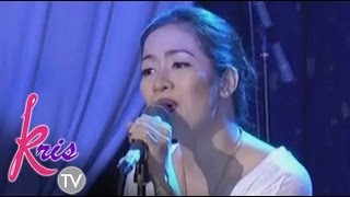 Angeline Quinto sings 'Gusto Kita' on KrisTV