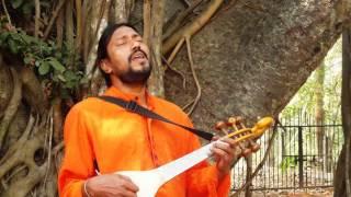 Lakhmandas Baul - manush keno kade re