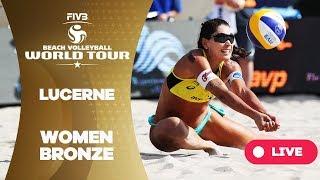 Lucerne - 2018 FIVB Beach Volleyball World Tour - Women Bronze Medal Match