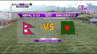 Nepal U23 vs Bangladesh U23 - Full match (Friendly)