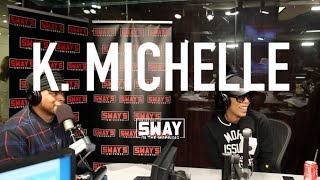 K.Michelle's Tearful Interview Fighting Her Gift of Music + Thoughts on Kehlani