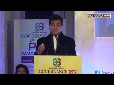 Shri Jeetendra Kapoor,Legendary Actor and Superstar at Governance Now 4th PSU Awards 2016
