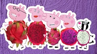 Wrong Bodies Peppa Pig Finger Family Nursery Rhymes | Videos for Kids