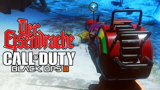 BLACK OPS 3 Zombies - Kill Robot Instantly, Mystery Box Trick & Free Points on DER EISENDRACHE