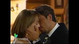 La Usurpadora Primer beso entre Paulina y Carlos Daniel