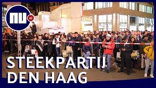Centrum Den Haag afgezet na steekpartij tijdens Black Friday | NU.nl