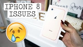IPHONE 8 ISSUES! || Vlogmas Day 23