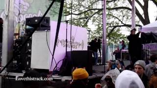 Willow & Jaden Smith performs at BC Fest!