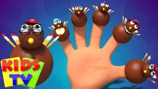 thanksgiving | finger family turkey | nursery rhymes | kids songs | baby rhymes