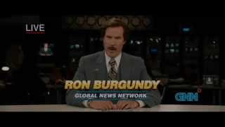 Anchorman 2 - The News Team Smokes Crack On Air