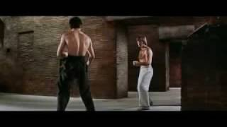 BRUCE LEE VS CHUCK NORRIS Full Fight. Bruce Lee DEATH MATCH