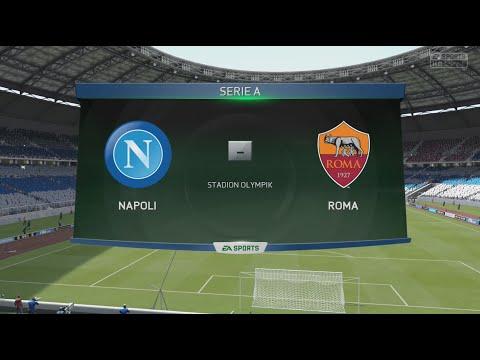 Napoli VS Roma - Pronostico FIFA 15 - Serie A TIM 2014/15 - Giornata 10