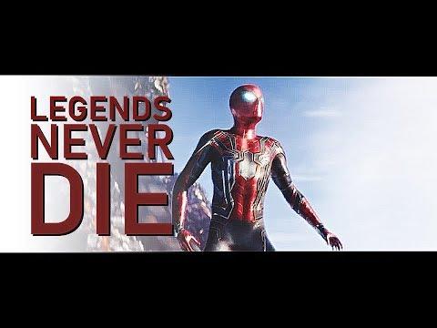 Avengers : Infinity War   Legends Never Die