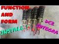 COIL-OVER INSTALL ON THE INTEGRA!  HSG EP. 5-14