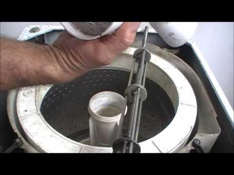 como retirar o agitador e cesto da lavadora brastemp clean