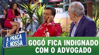 Paulinho Gogó fica indignado com advogado | A Praça É Nossa (27/04/17)