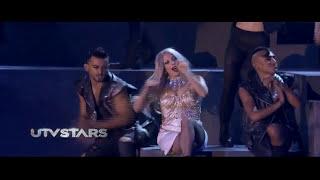 Lady Gaga At India  ( Born This Way - Judas ) Part 1