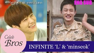 INFINITE L & Minseok, Celeb Bros S6 EP4