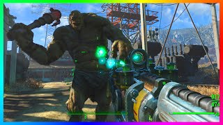 FALLOUT 4 GAMEPLAY - Free Roam Gameplay Of Fallout 4! (FO4 Gameplay)