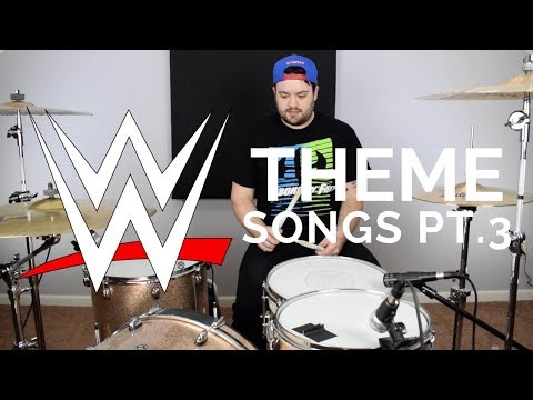 WWE WRESTLING THEME SONGS ON DRUMS Pt. 3