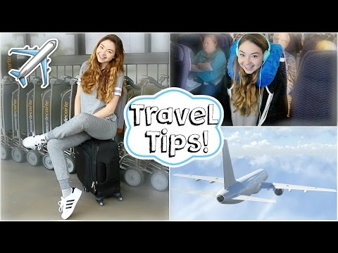 Airplane Travel Tips Easy Makeup & Outfit Meredith Foster