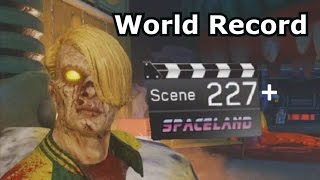 Round 227+ IW Zombies In Spaceland World Record