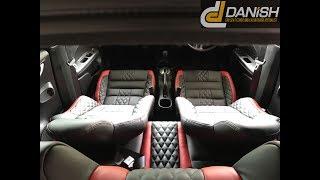 Interior Honda Brio Using Lederlux Synthetic Leather