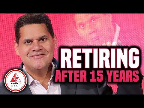 Reggie RETIRES from Nintendo... President Bowser In April!
