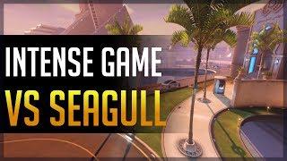 [Overwatch] Kephrii - Intense Game vs Seagull & aKm