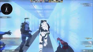 CS:GO - Zombie Escape Mod - Resident Evil - ze_racoon_facility_v6b_p - GFL