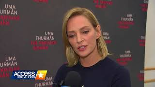 Uma Thurman on Sexual Abuse in Hollywood: I'm Too Angry to Even Formulate a Response