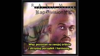 Rakim - The Mystery (Who Is God) (napisy PL)