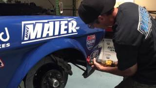 Evolution: Mike Maier's Blue Coupe Begins its Changes