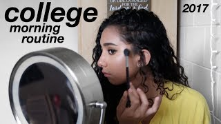 COLLEGE MORNING ROUTINE 2017!