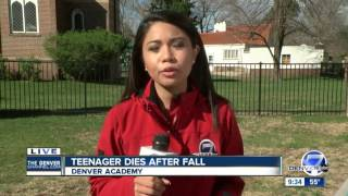 Teenager dies after fall at Denver Academy