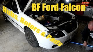 Ford BF - How to Change Hubs, Rotors and Brake Pads
