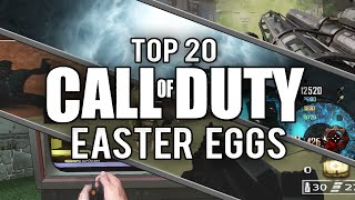My Top 20 Call of Duty Easter Eggs and Secrets