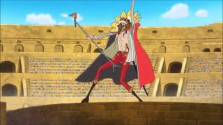 One Piece 668 - Diamante's Entrance