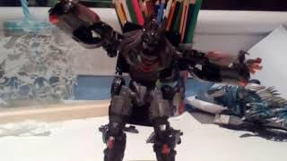 Transformers berserker trailer stop motion
