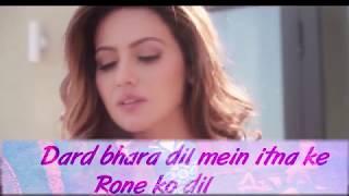 Wajah Tum Ho  Maahi Ve Full Song With Lyrics   Neha Kakkar, Sana, Sharman, G