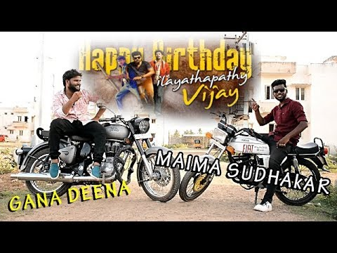 Xxx Mp4 Chennai Gana Gana Deena Maima Gana Sudhakar Ilaya Thalapathy Vijay Birthday Song 2018 3gp Sex