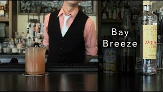 Bay Breeze Cocktail - How to Make a Bay Breeze